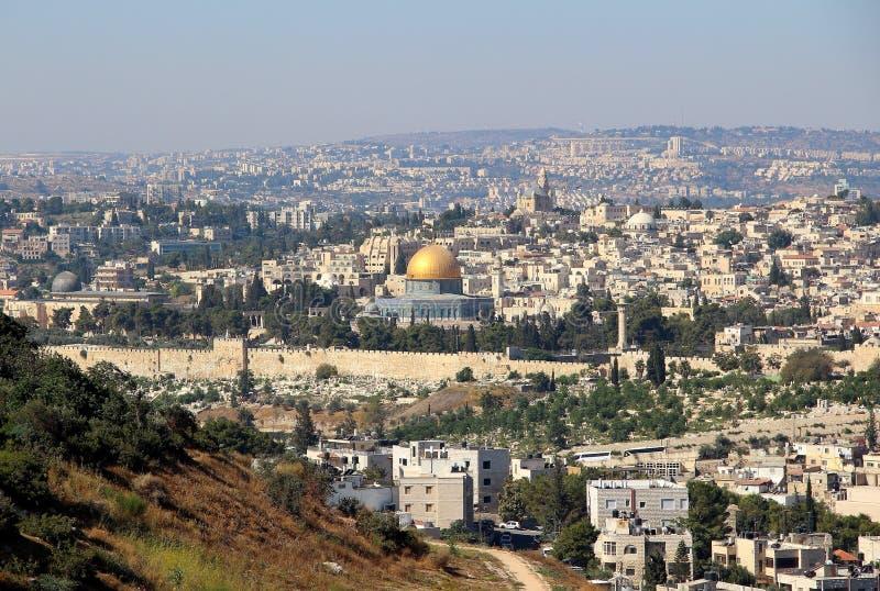 Paesaggio urbano di Jerusalen immagine stock