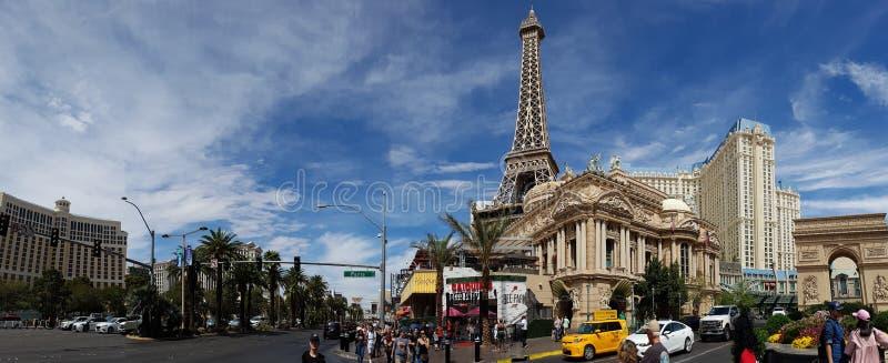 Paesaggio urbano di Las Vegas fotografia stock libera da diritti