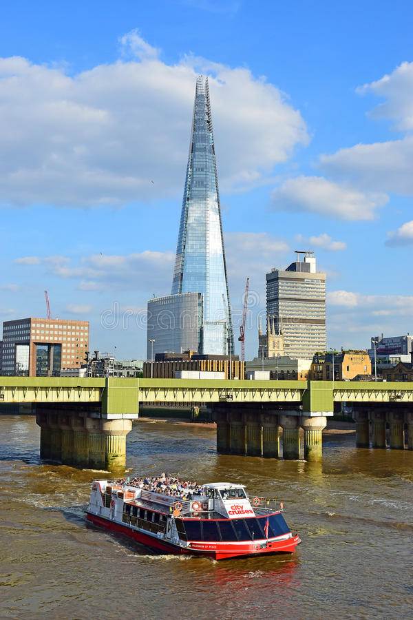Paesaggio urbano di Londra, Regno Unito fotografia stock