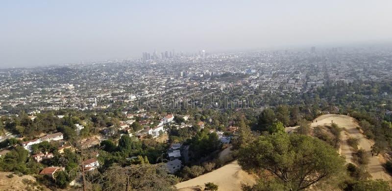 Paesaggio urbano di Los Angeles fotografia stock libera da diritti
