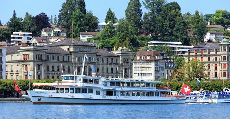 Download Paesaggio Urbano Di Lucerna Fotografia Editoriale - Immagine di esterno, barca: 56883027