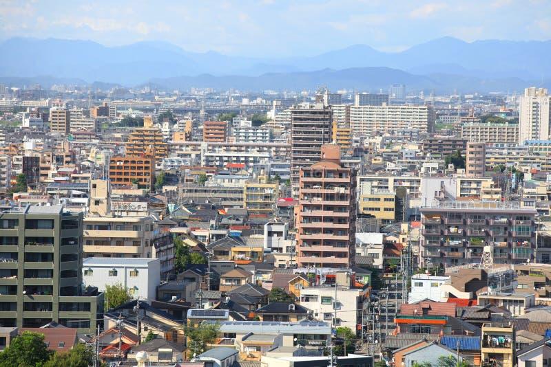 Paesaggio urbano di Nagoya fotografie stock