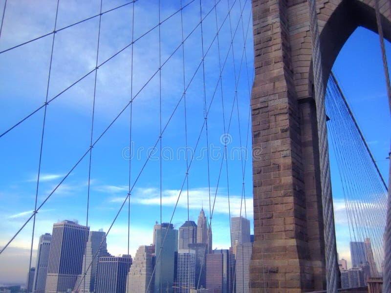 Paesaggio urbano di New York immagini stock