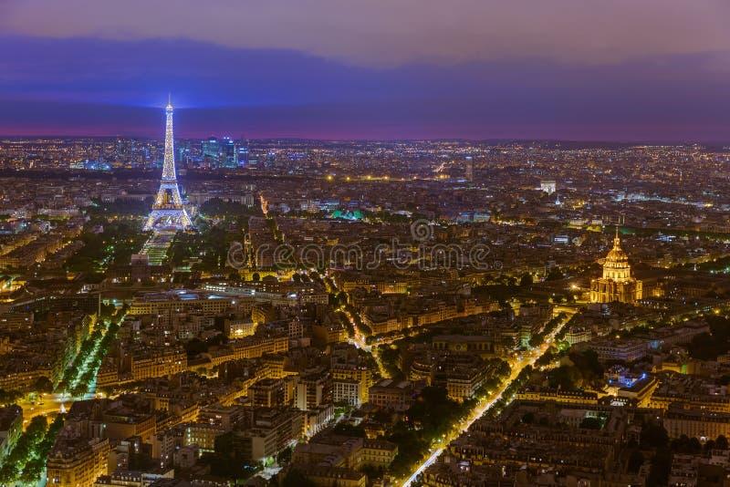 Paesaggio urbano di Parigi Francia fotografia stock