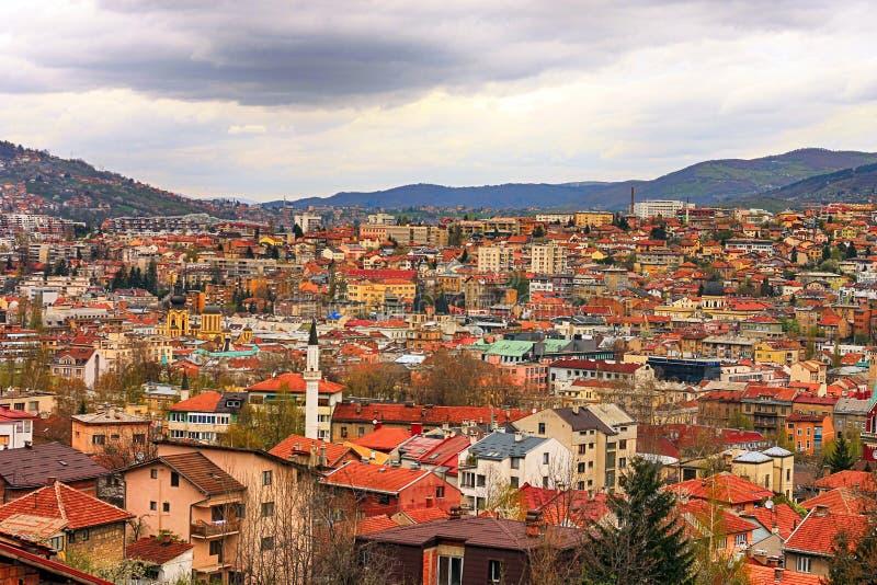 Sarajevo immagine stock libera da diritti