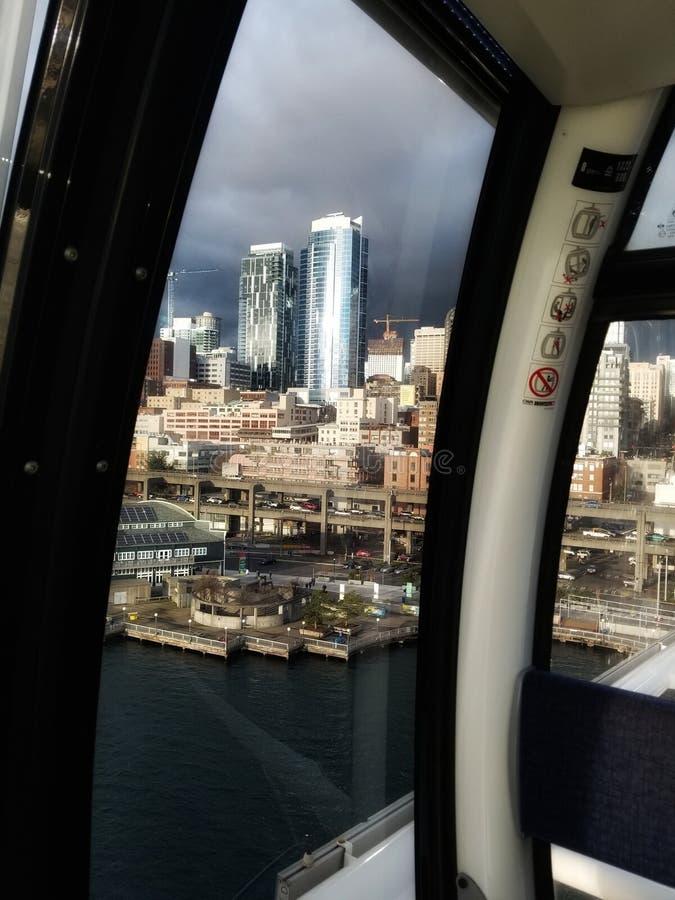 paesaggio urbano di Seattle immagine stock