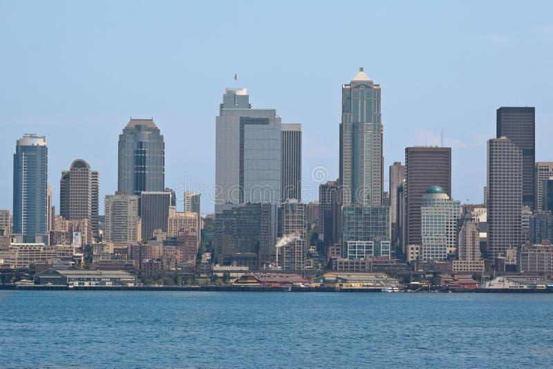 Paesaggio urbano di Seattle immagini stock