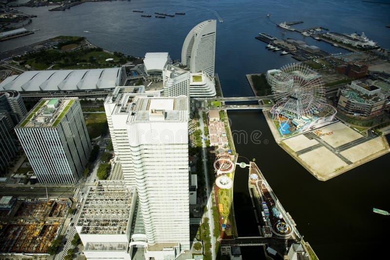 Paesaggio urbano di Tokyo. Città del Giappone. Una vista su una città fotografia stock