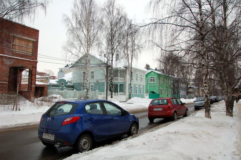 Paesaggio urbano di Vologda immagine stock libera da diritti