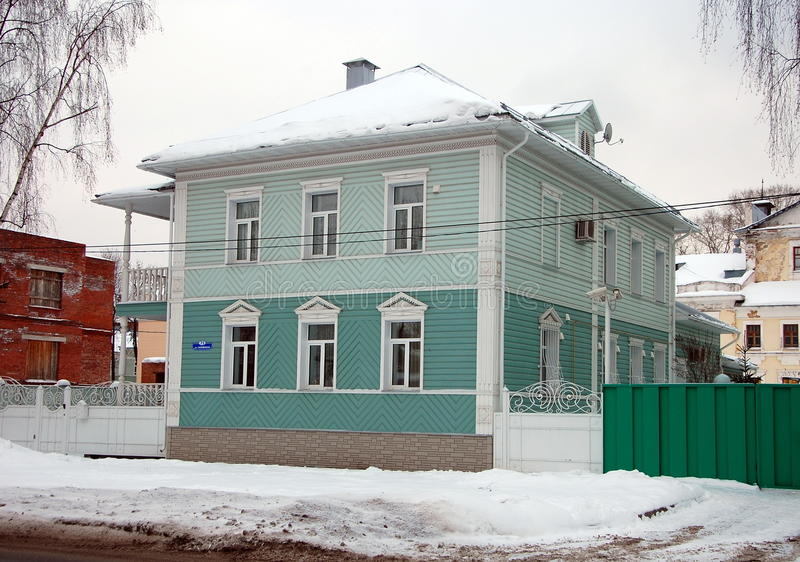 Paesaggio urbano di Vologda fotografia stock libera da diritti