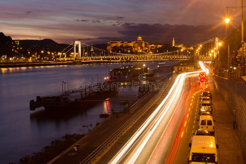 Paesaggio urbano Ungheria di Budapest fotografia stock libera da diritti