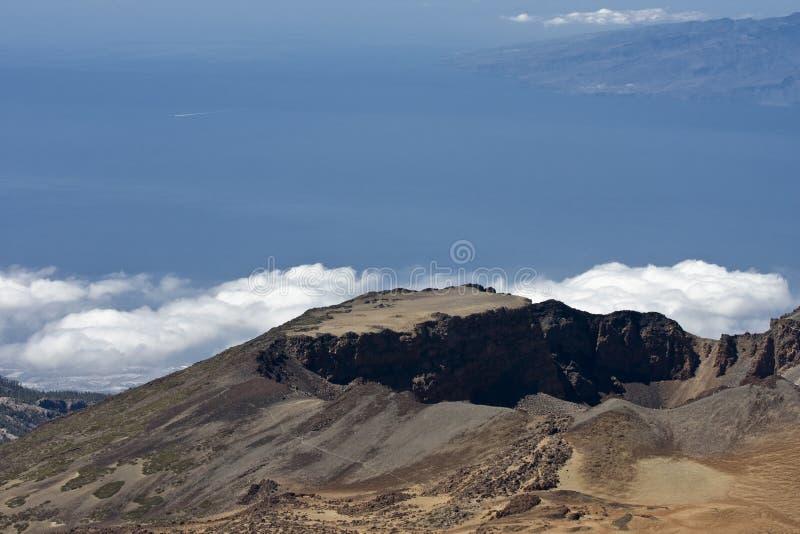 Paesaggio vulcanico immagine stock libera da diritti