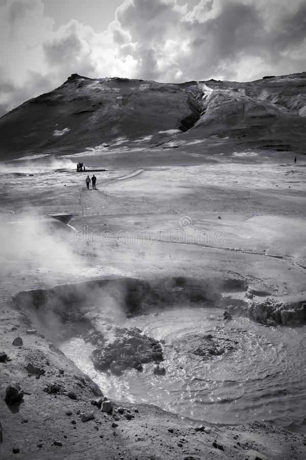 Paesaggio vulcanico Islanda fotografie stock libere da diritti