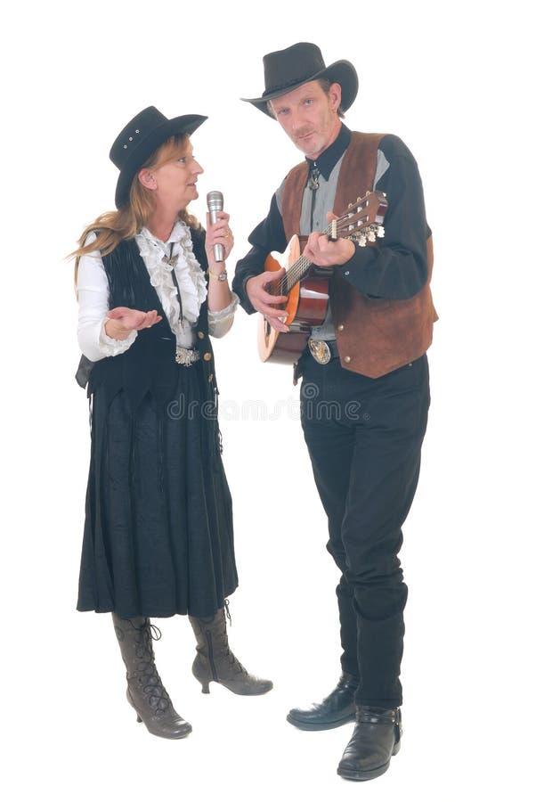 Paese & cantanti occidentali immagini stock libere da diritti