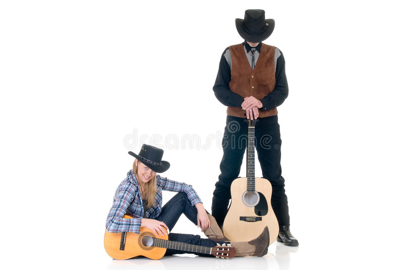 Paese & cantanti occidentali fotografie stock