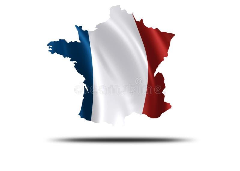 Paese Della Francia Fotografia Stock Libera da Diritti