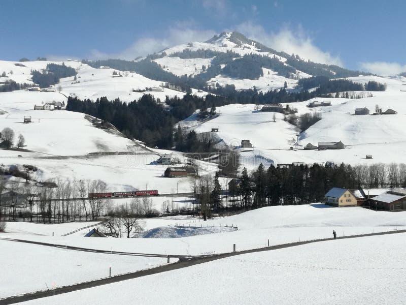 Paese della Svizzera Heidi immagine stock