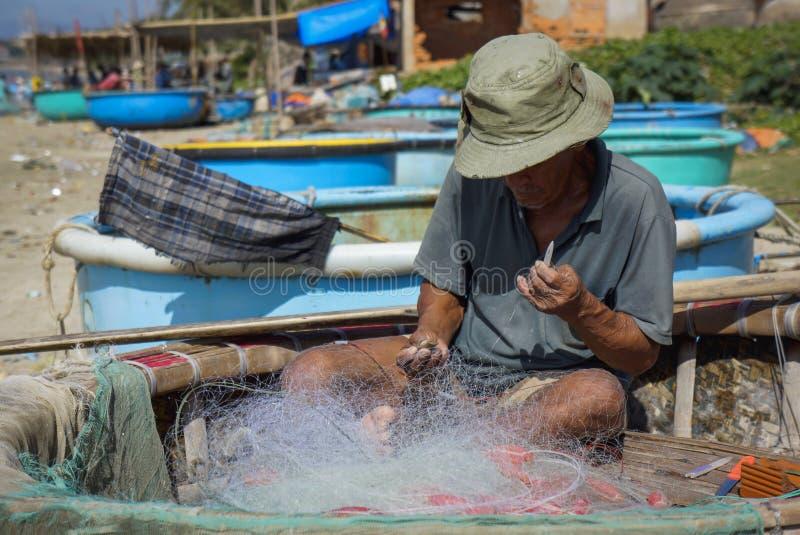 Paesino di pescatori del Ne di Mui fotografie stock libere da diritti