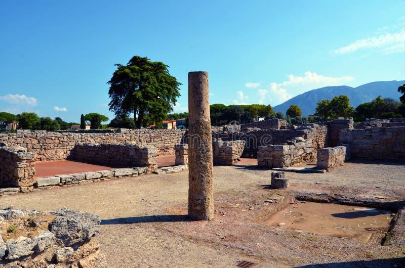 Paestum Италия Capaccio стоковые изображения