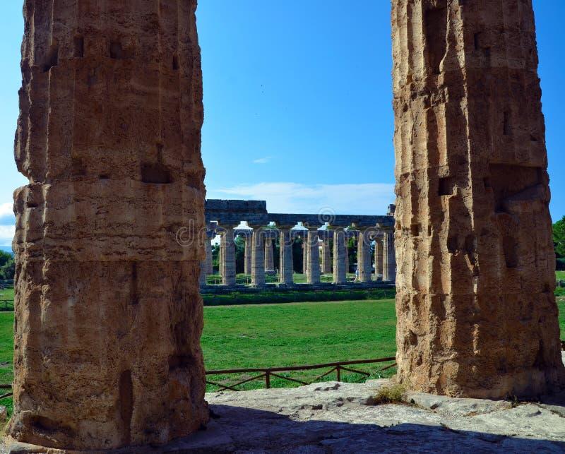 Paestum Италия Capaccio стоковое фото rf