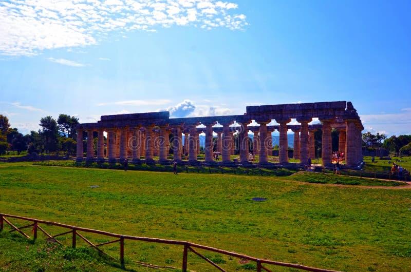 Paestum Италия Capaccio стоковая фотография