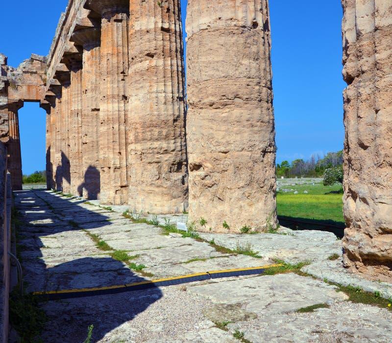 Paestum Италия Capaccio стоковые фото