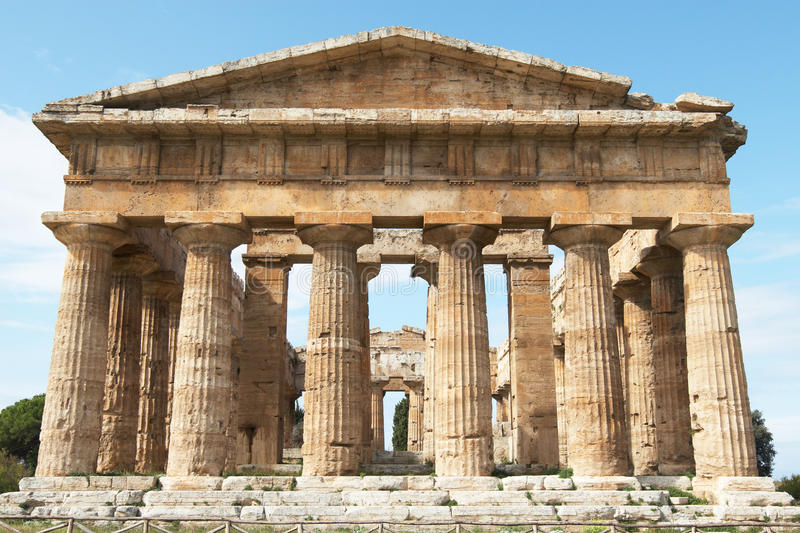 Download Paestum stock image. Image of apollo, archeology, province - 20120937