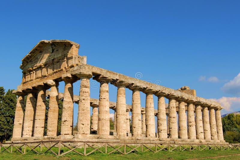 Paestum royalty free stock photo