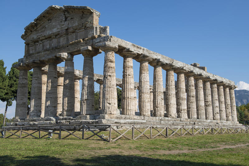 Paestum image libre de droits