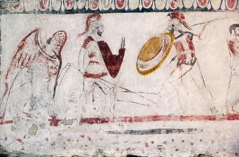 Paestum, Italia imagen de archivo libre de regalías