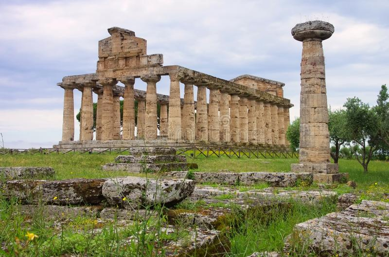Download Paestum stock photo. Image of archaeology, travel, history - 32067342