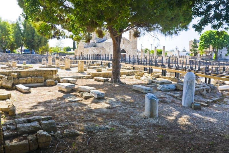 Pafos,塞浦路斯 库存图片