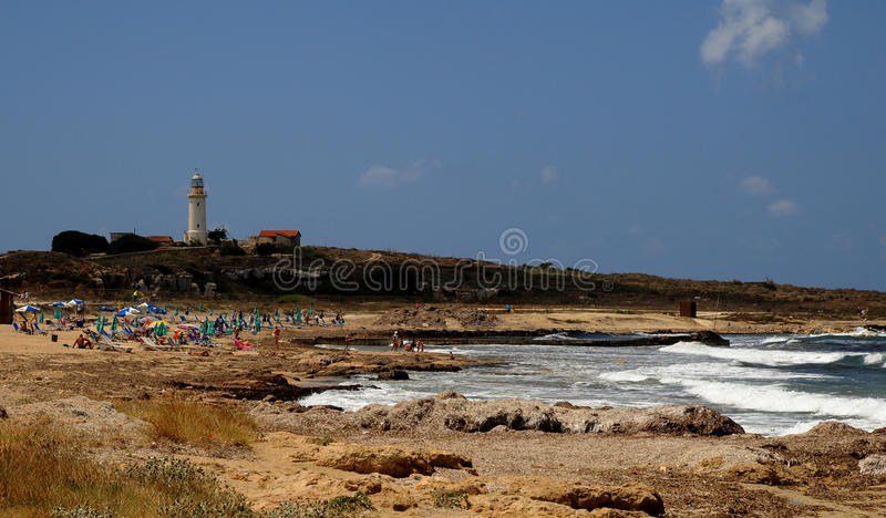 Download Pafos Lighthouse Stock Images - Image: 15685314