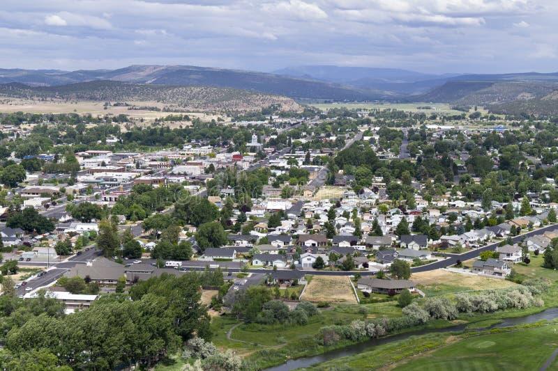 pagórka Oregon prineville zachód zdjęcie stock