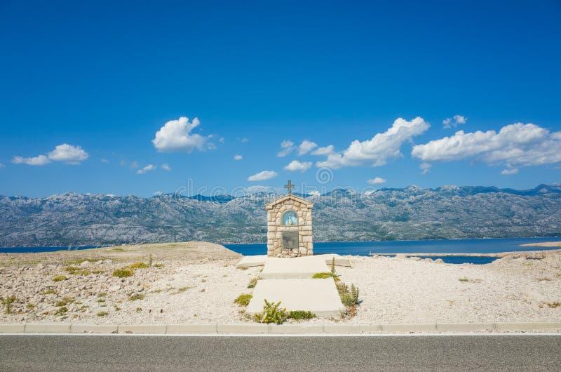 PAG Croazia fotografia stock libera da diritti