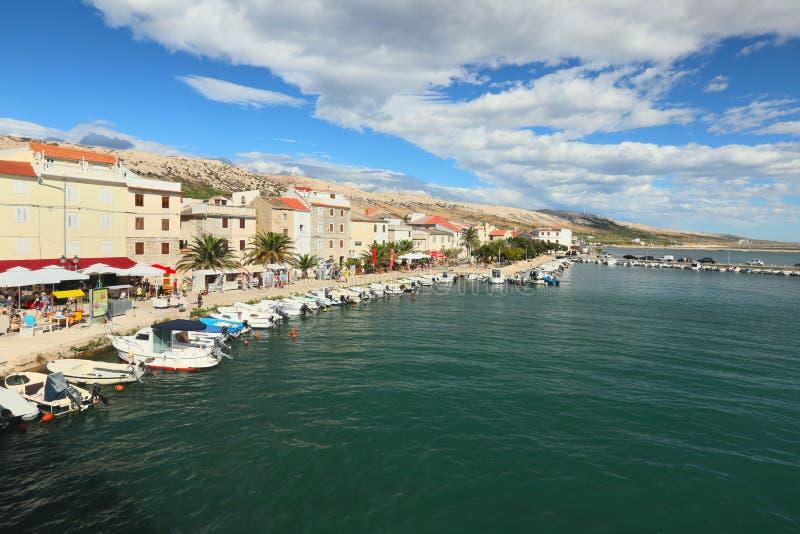 Pag, Dalmacia, Croacia fotos de archivo