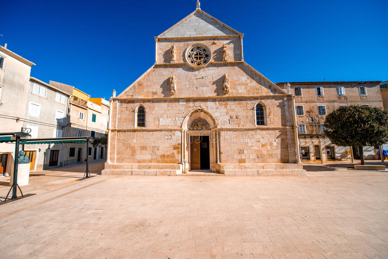 Pag's church royalty free stock images
