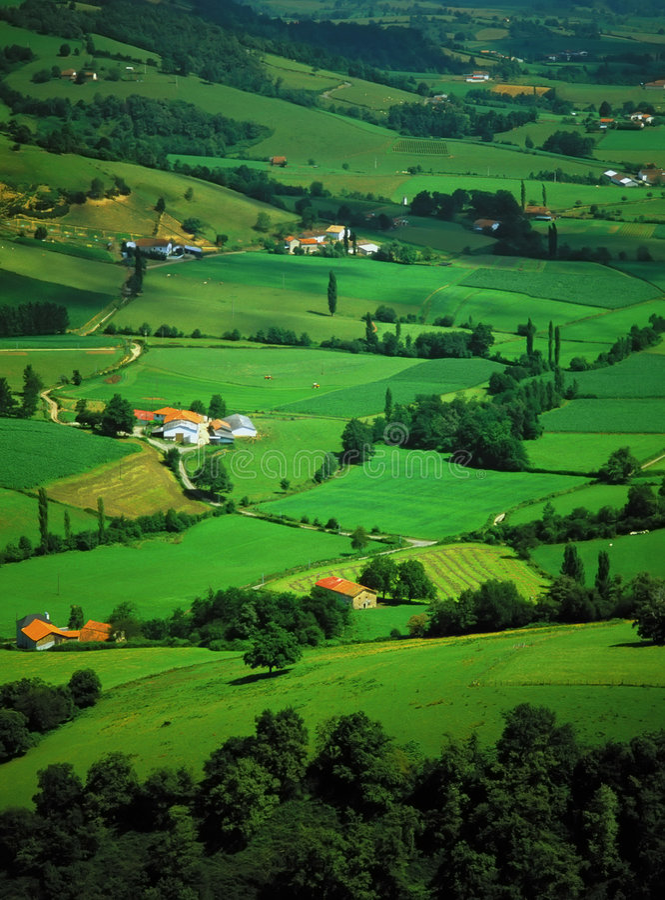 Paga basque fotografía de archivo libre de regalías
