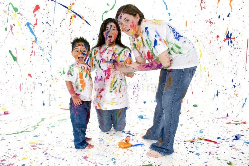 Pagaille colorée photos stock