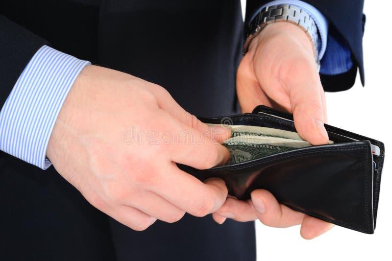 Pagamento com dinheiro imagens de stock royalty free
