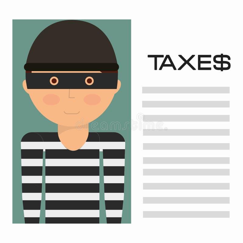 Pagamento di imposte royalty illustrazione gratis