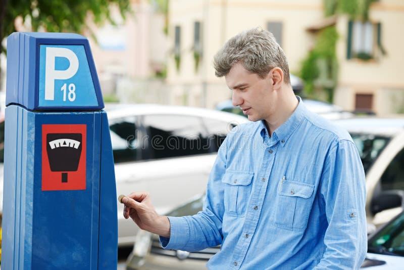 Pagamento di parcheggio fotografie stock