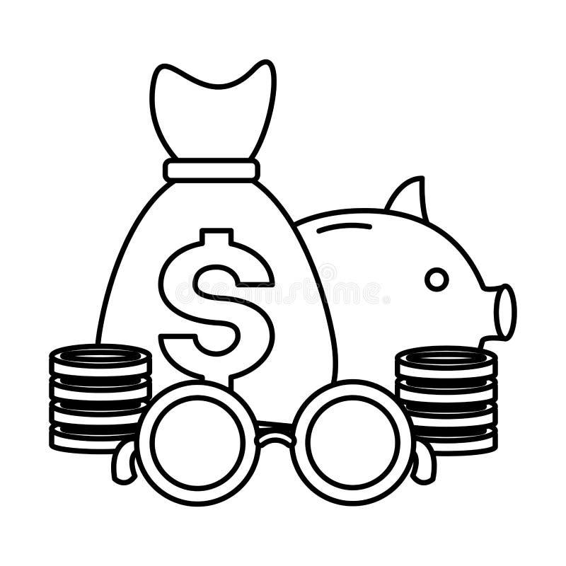 Pagamento di tempo di imposta illustrazione di stock
