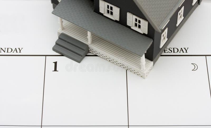Pagamento ipotecario fotografia stock