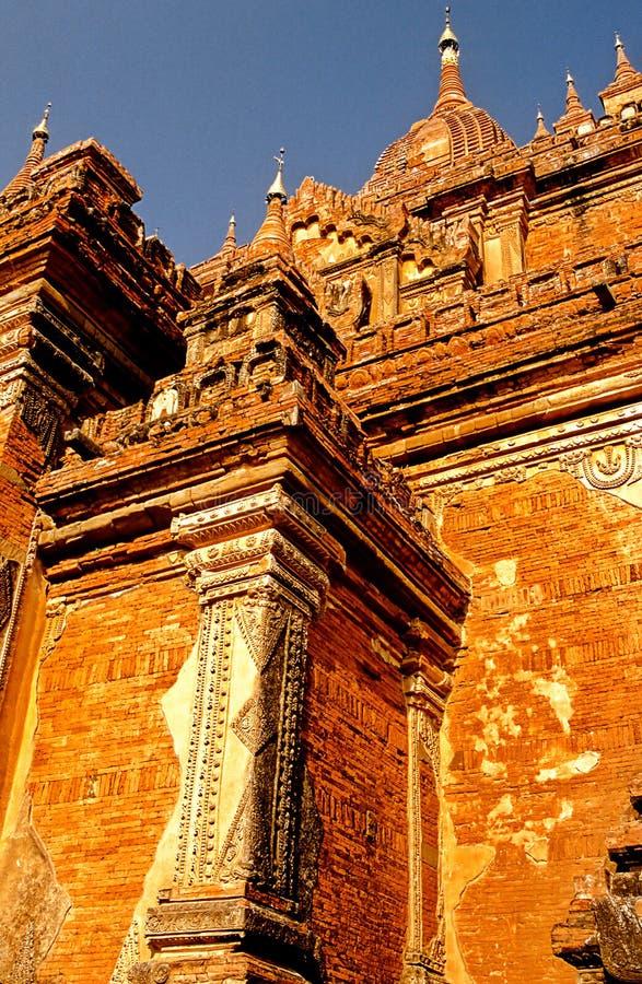 Pagan de la ruina, Birmania (Myanmar) imagen de archivo libre de regalías