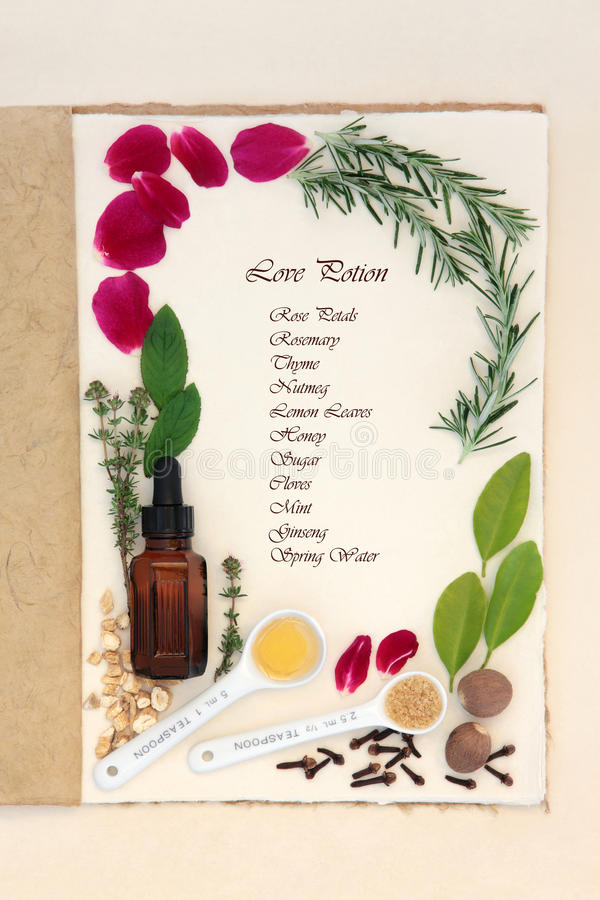 Free Pagan Love Potion Stock Image - 45682941