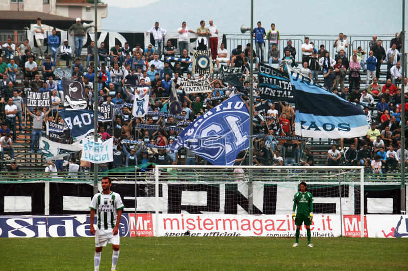 Download Paganese supporters editorial stock photo. Image of sport - 29016273
