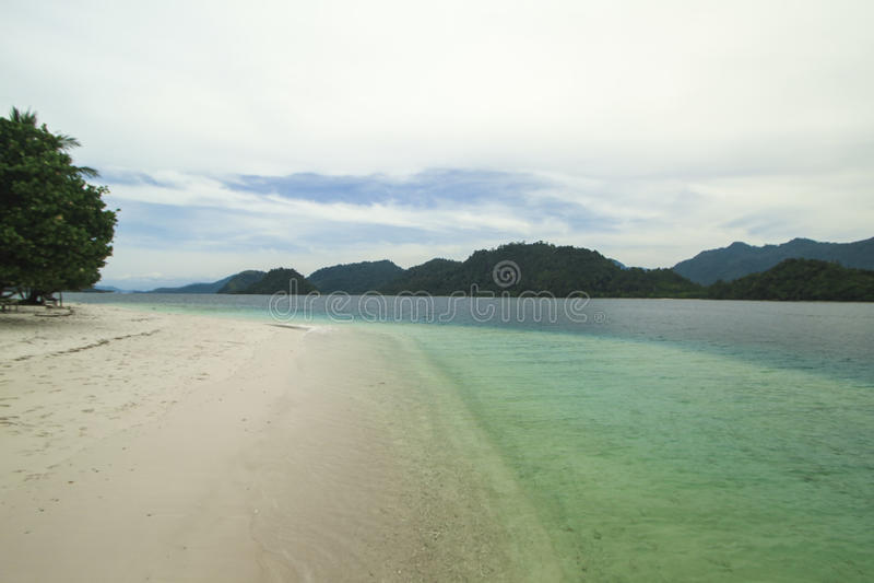 Pagang海岛海滩 图库摄影