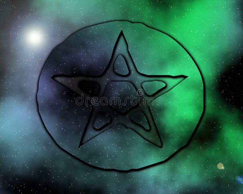 Paganus Galactica 1 stock images