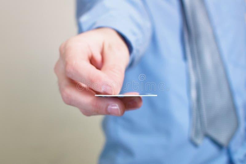 Pagar com cartão de crédito imagens de stock